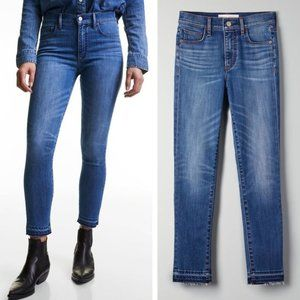 Denim Forum | The Nico Mid Crop Cropped Aritzia